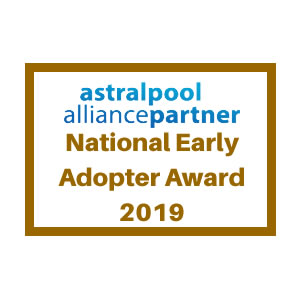 Astral Pools Early Adopter award 2019